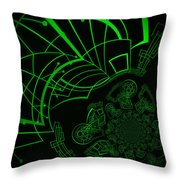 Escaping The Matrix Throw Pillow