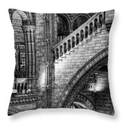 Escheresq Bw Throw Pillow by Heather Applegate