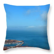 Escobedo Bay  -2 Throw Pillow