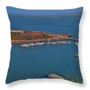 Escobedo Bay Throw Pillow