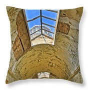 Esp Tower View Throw Pillow