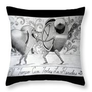 Especialmente Para Zanito Throw Pillow
