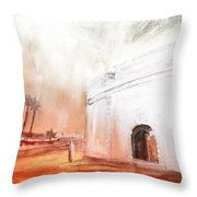 Essaouira Town Throw Pillow