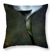 Essence Glow Of A Calla Lily Throw Pillow