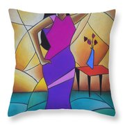 Essence Of A Woman II Throw Pillow