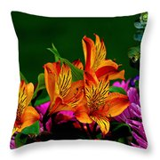 Essence Of Joy Throw Pillow