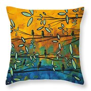 Essence Of Life By Madart Throw Pillow