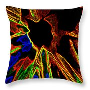 Essence Of The Vein Throw Pillow