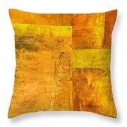 Essence Of Yellow Throw Pillow