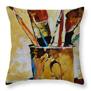 Essential Elements Throw Pillow