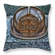 Essex County N J 9-11 Memorial 3  Throw Pillow