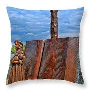 Essex County N J 9-11 Memorial 4 Throw Pillow