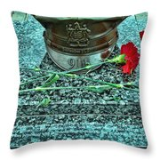 Essex County N J 9-11 Memorial 6  Throw Pillow