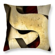 Essss Throw Pillow