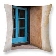 Estate Window Throw Pillow