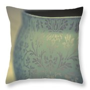 Etched In My Heart Throw Pillow by Christi Kraft