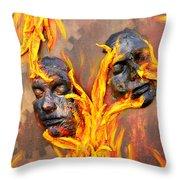Eternal Damnation Throw Pillow
