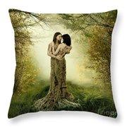 Eternal Embrace Throw Pillow