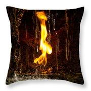 Eternal Flame  Throw Pillow