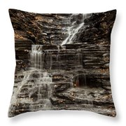 Eternal Flame Waterfalls Throw Pillow