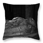 Eternal Rest Throw Pillow
