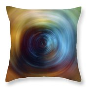 Eternal Spin Art Throw Pillow