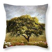 Eternal Spring Throw Pillow