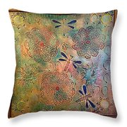 Eternal Sun By Alfredo Garcia  Throw Pillow