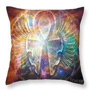 Eternal Wings Throw Pillow