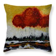 Eternity Throw Pillow by Vickie Warner