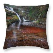 Ethereal Autumn Square Throw Pillow