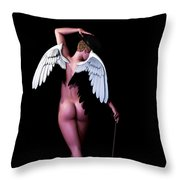 Ethereal Dance Throw Pillow