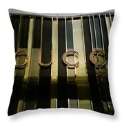 Ethereal Gucci Throw Pillow