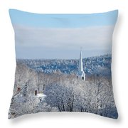 Ethereal Steeple Throw Pillow