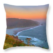 Ethereal Sunset Throw Pillow