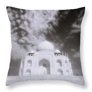Ethereal Taj Mahal Throw Pillow