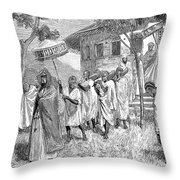 Ethiopia Abuna, 1884 Throw Pillow