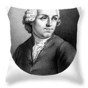 Etienne Bonnot De Condillac(1715-1780) Throw Pillow