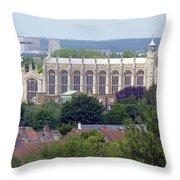 Eton College Chapel Throw Pillow