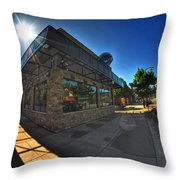 Ets Elmwood Tacos And Subs Throw Pillow