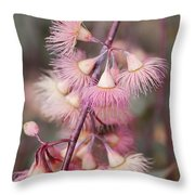 Eucalyptus Bloom Throw Pillow