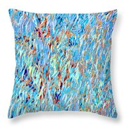 Eucalyptus In Blue Throw Pillow