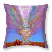 Eucharist Throw Pillow