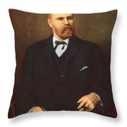 Eugene Dupont (d Throw Pillow