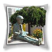 Eugene Gladstone O'neill Throw Pillow