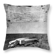Eugene Viollet-le-duc French Architect Throw Pillow