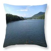 Euphoria In The Mountains Throw Pillow