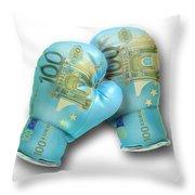 Euro Gloves-2 Throw Pillow