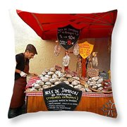 A European Butcher Throw Pillow