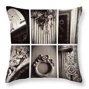 European Elegance Throw Pillow